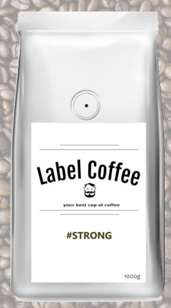 Espresso STRONG-Label Coffee-BLOOSS coffee