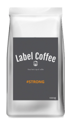 Espresso #STRONG #Labelcoffee