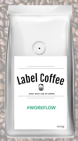 Espresso WORKFLOW-Label Coffee-BLOOSS coffee